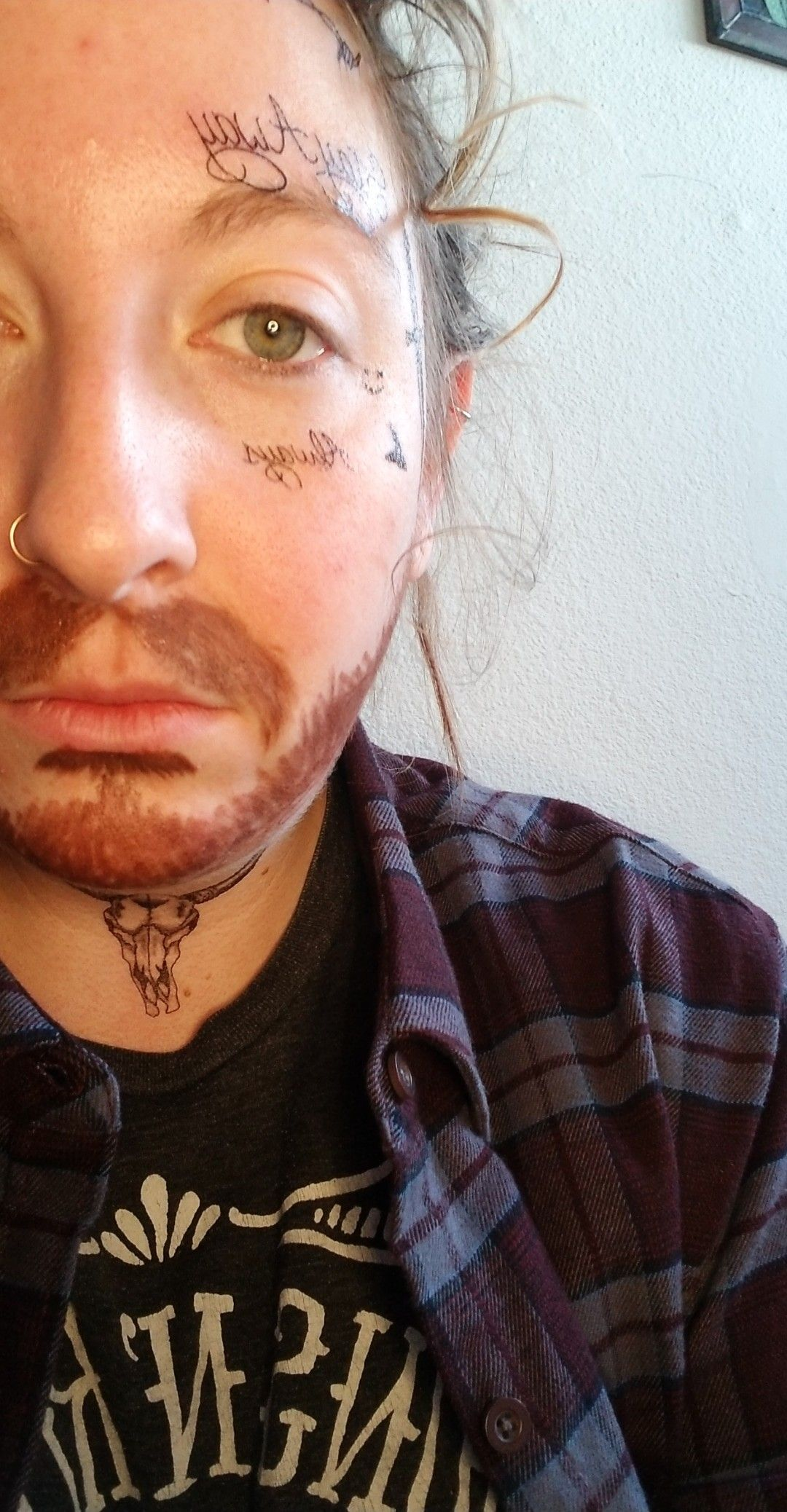 Tattoos purchased on Amazon postmalone postmalonecostume