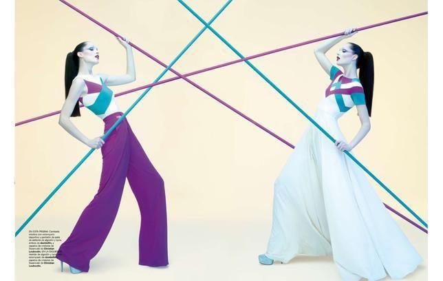 Harper's Bazaar Abril - Katharsis SS12   Fotografías: Juan Gatti