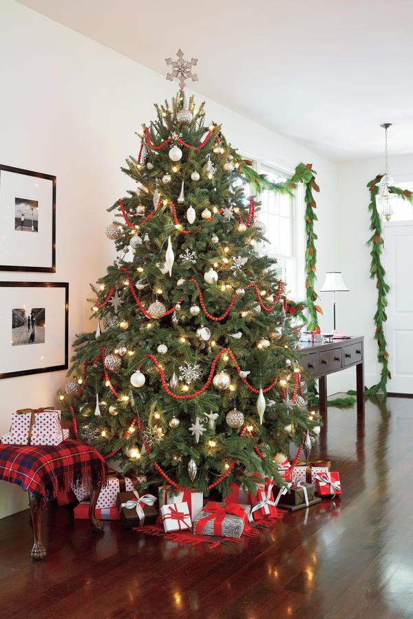 Our Favorite Living Rooms Decorated For Christmas Decoracao De