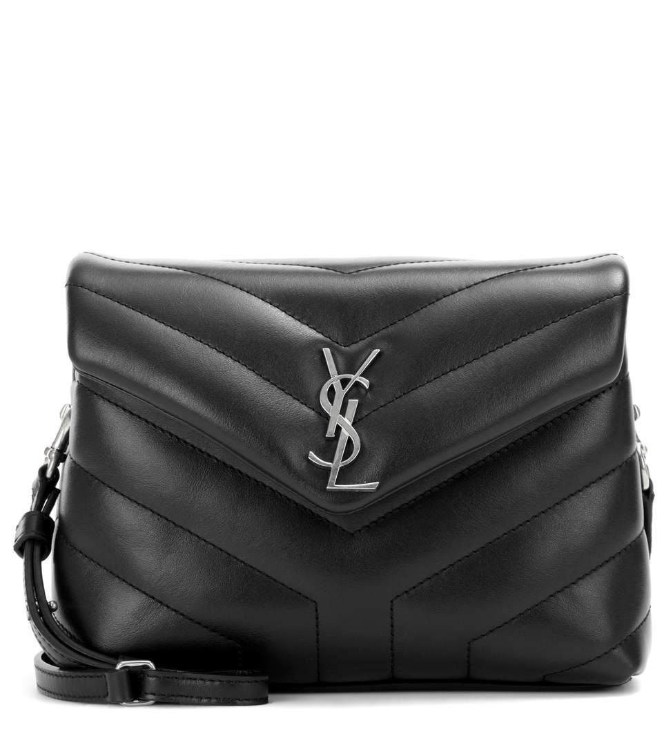 c5a280ba85f SAINT LAURENT . #saintlaurent #bags #shoulder bags #leather #lining ...