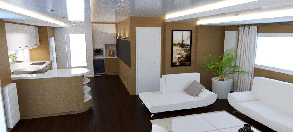 Aménagement intérieur et décoration d\'un mobile home à Lyon 7 ...