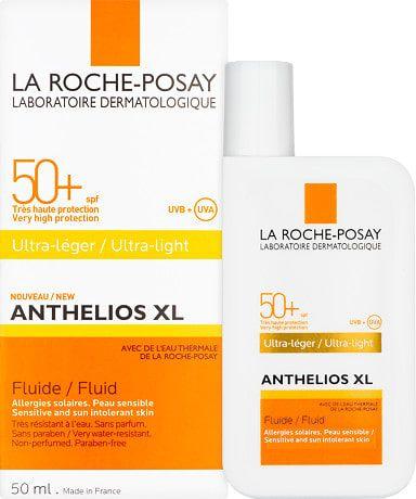 La Roche Posay Anthelios Xl Ultra Light Fluid Spf50 50ml Affordable Skin Care La Roche Posay La Roche Posay Sunscreen