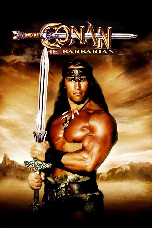 Conan The Barbarian 1982 Poster Movies Conan The Barbarian Movie Barbarian Movie Conan The Barbarian 1982