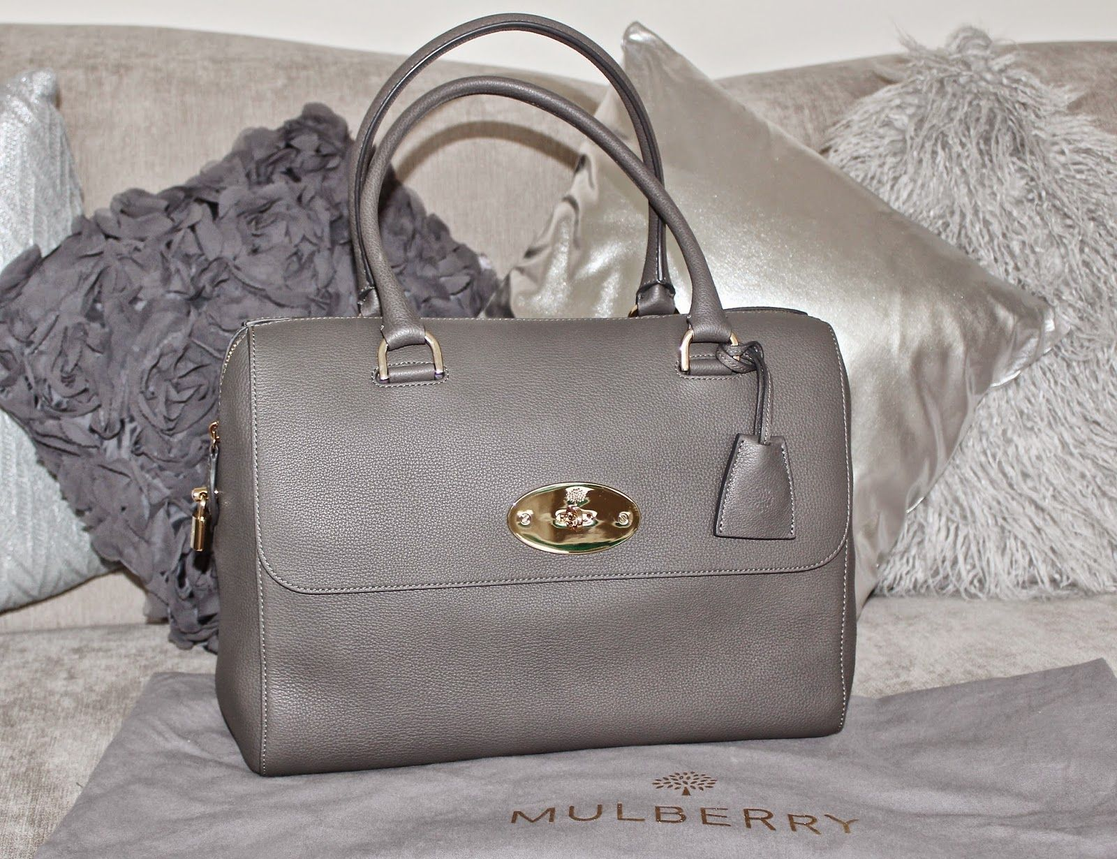 2a15105cf3 flutter and sparkle  Mole Grey Del Rey bag from the Mulberry Outlet at  Bicester Village - plus current bag stock list!