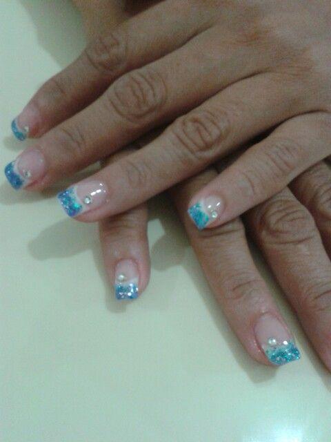Uñas acrilicas encapsuladas | uñas acrilicas | Pinterest