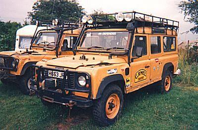 Camel Trophy Land Rovers Auto Orange Pinterest Land