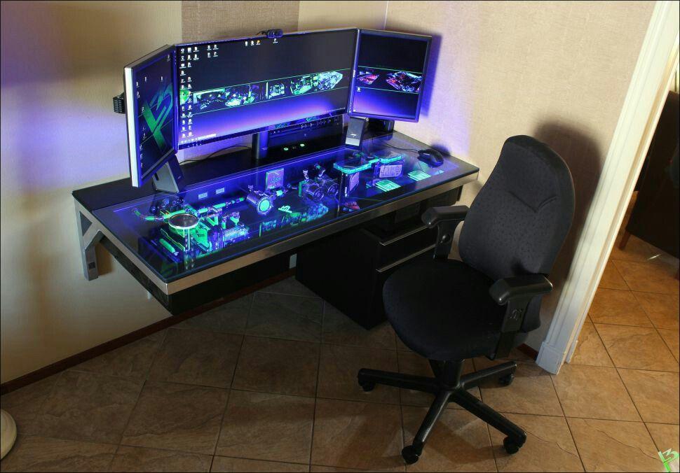 Command Center Desk Mod Diy Computer Desk Computer Desk Custom