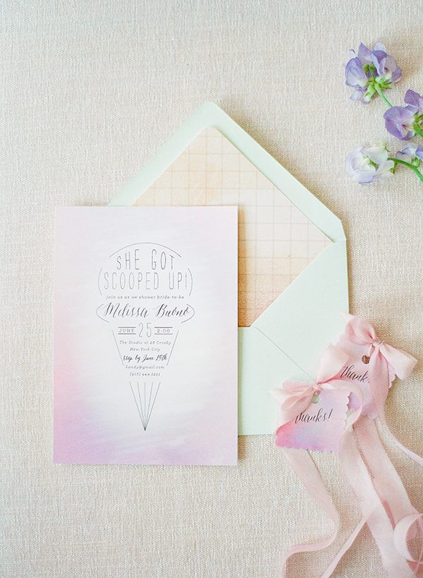 bridal shower invitations photo by Brklyn