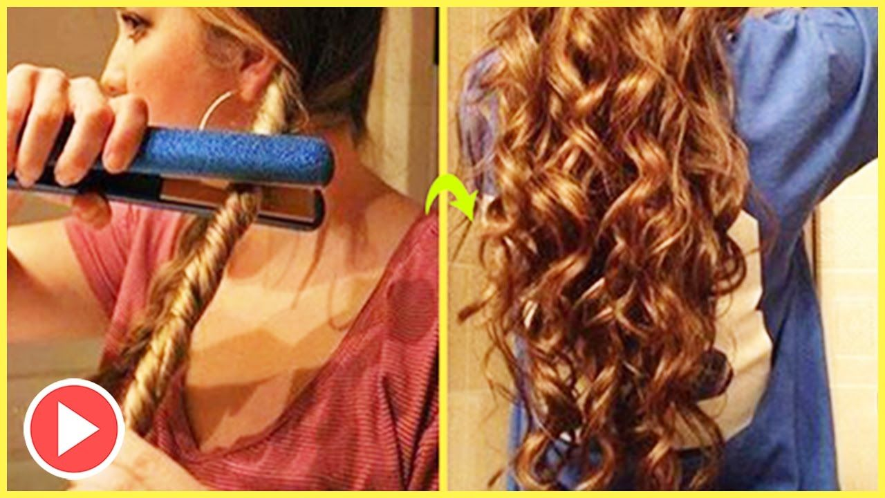 How To Make Your Hair Curly Overnight With Wet Hair And Make It Last