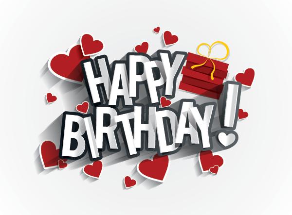 Birthday Hearts Gift Happy Birthday To You 3 Birthday Wishes