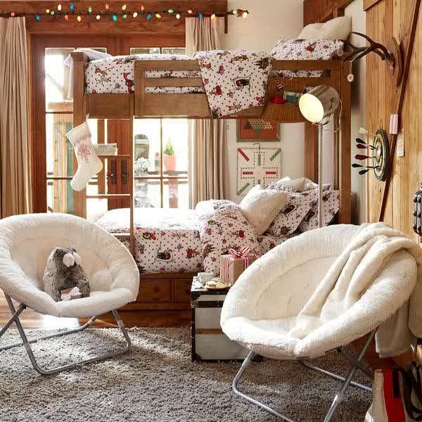 Furniture Kids Room Furniture Modern Chairs Papasan Two White