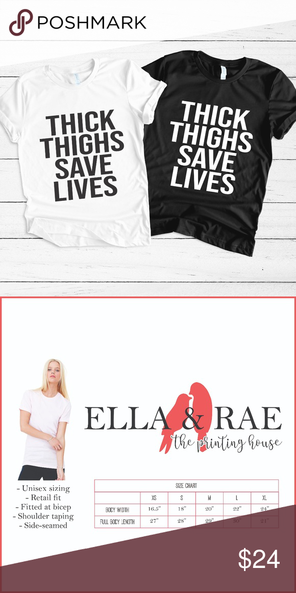2700b3012 THICK THIGHS SAVE LIVES WORKOUT GRAPHIC TEE SHIRT Made-to-order tees &