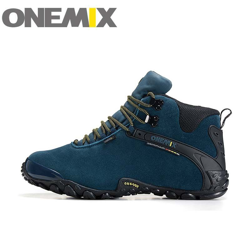 Find More Hiking Shoes Information about ONEMIX 1058 new autumn winter Men's Women's outdoor Hiking sneaker leather waterproof  Climbing shoes size 40 45,High Quality waterproof climbing shoes,China climbing shoes Suppliers, Cheap hiking sneakers from onemix Factory Store on Aliexpress.com
