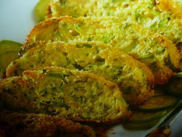 polpettone vegetariano - con zucchine