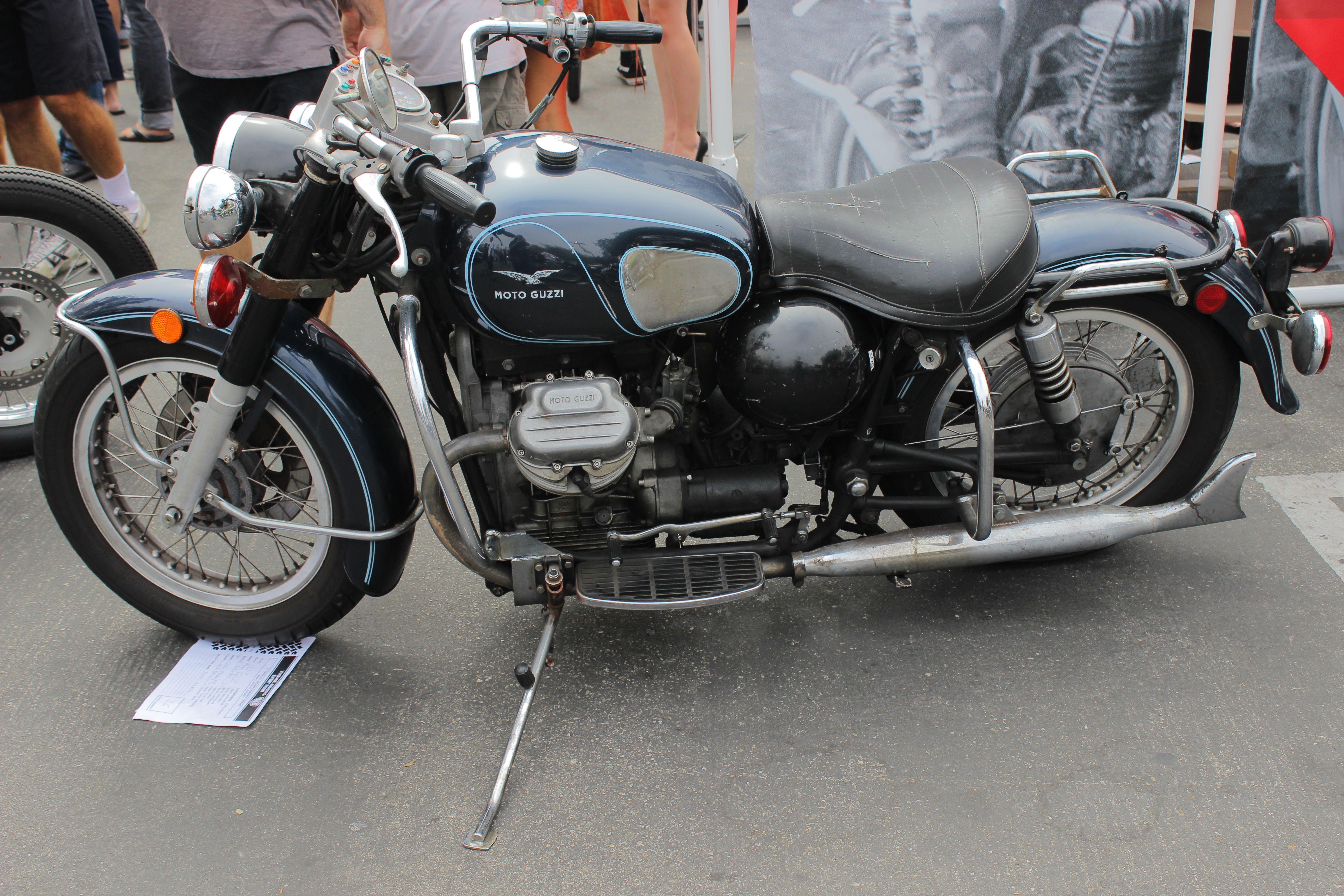 1974 moto guzzi eldorado 850 by alucard214 [ 5184 x 3456 Pixel ]