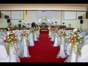 como hacer arreglos florales para iglesia