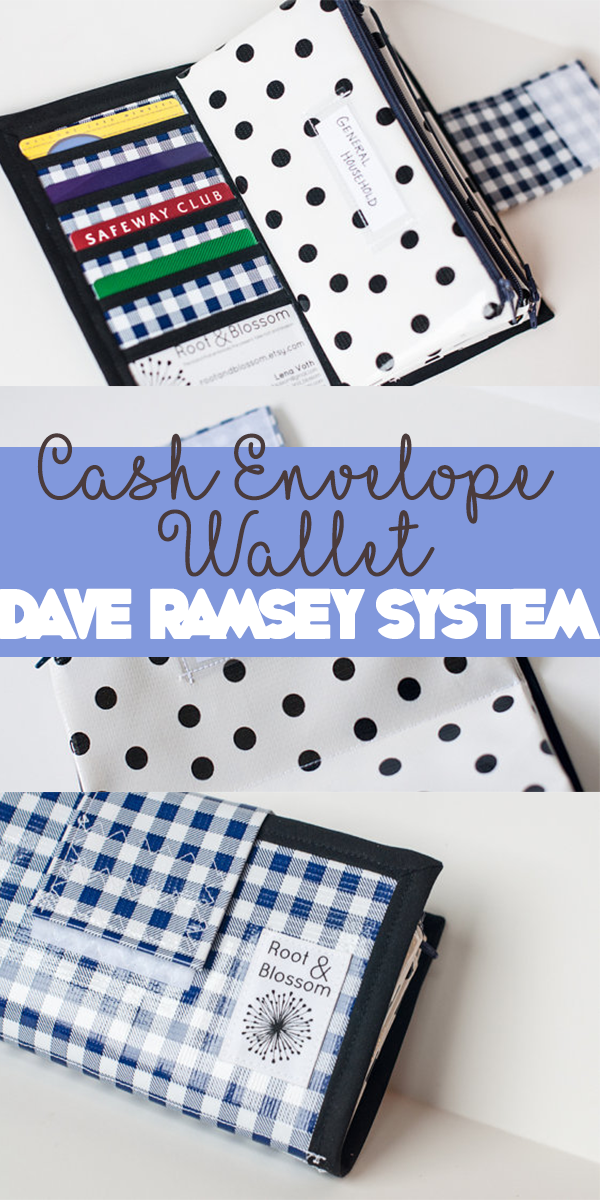 this adorable cash system wallet helps you to manage and keeping