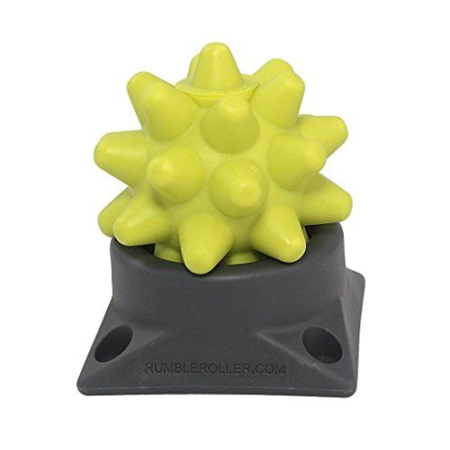 Rumbleroller Beastie Massage Ball Set Spiky Yellow Hard It S Difficult To Believe That This Mace Shaped Tor Massage Ball Massage Roller Ball Rumble Roller