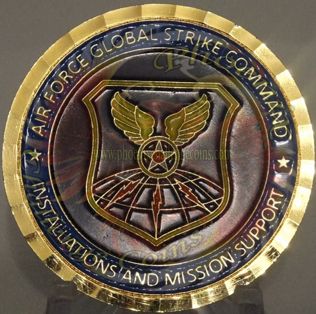 Air Force Coin, Global Strike Command Chief Engineer