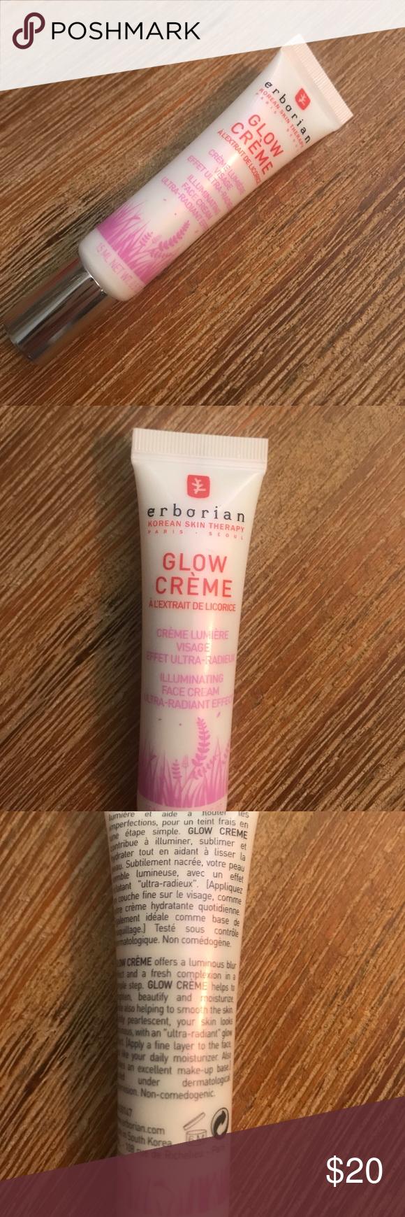 New Erborin highlighting glow créme Face cream, Creme
