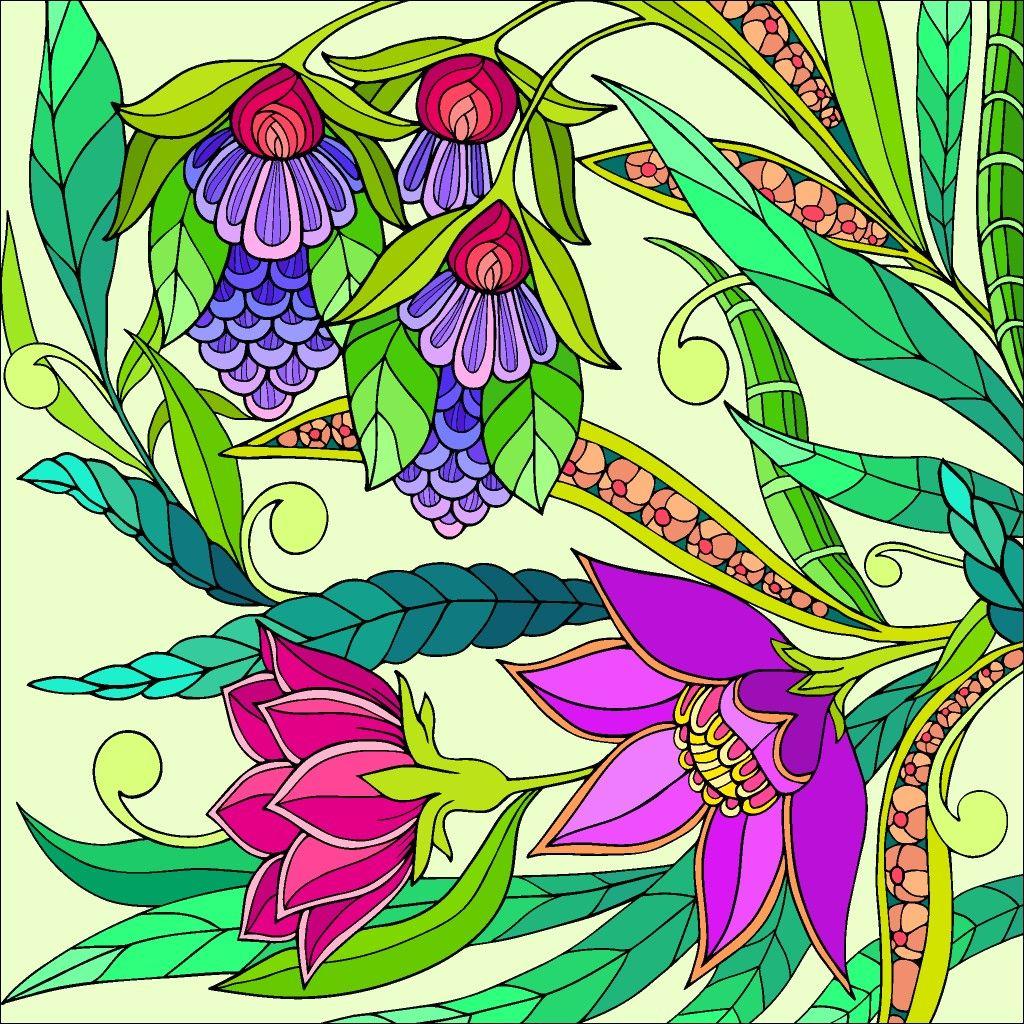 #Colorbynumber (с изображениями) | Нарисовать цветы ...