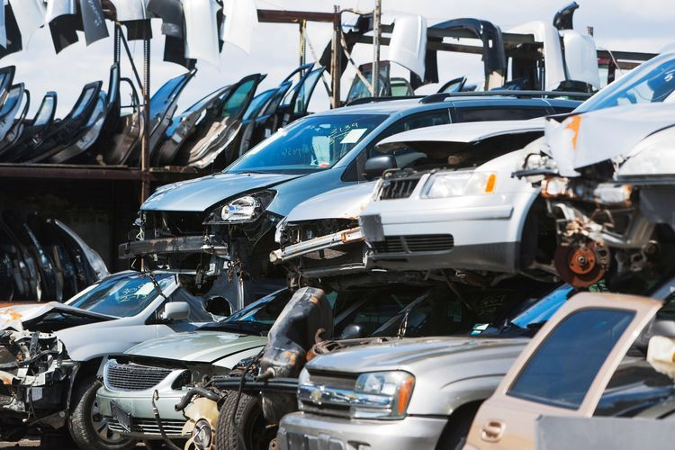 Car Recycling Facts and Figures Scrap car, Recycling