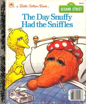 Mr Snuffleupagus Muppet Wiki Fandom Powered By Wikia Little Golden Books Sesame Street Books Books