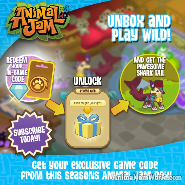 Shark Tail Codes for Animal Jam - How to Get Them