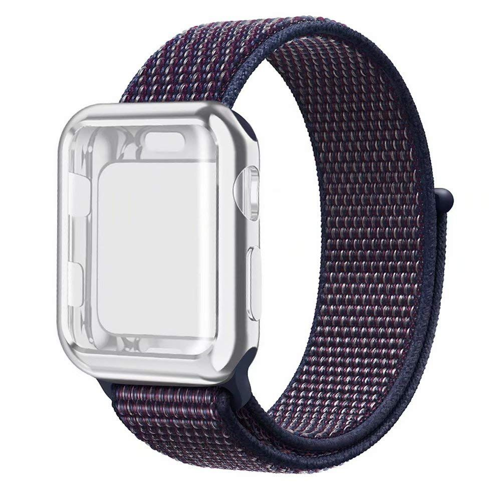 Details about Genuine Apple Watch Strap Black Pure