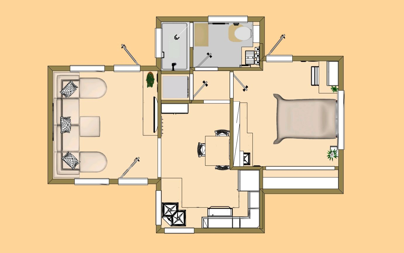 the 477 sq ft