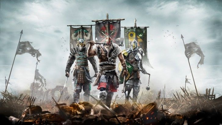 For Honor Samurai Viking And Knight 4k Wallpaper 3840x2400 Gambar