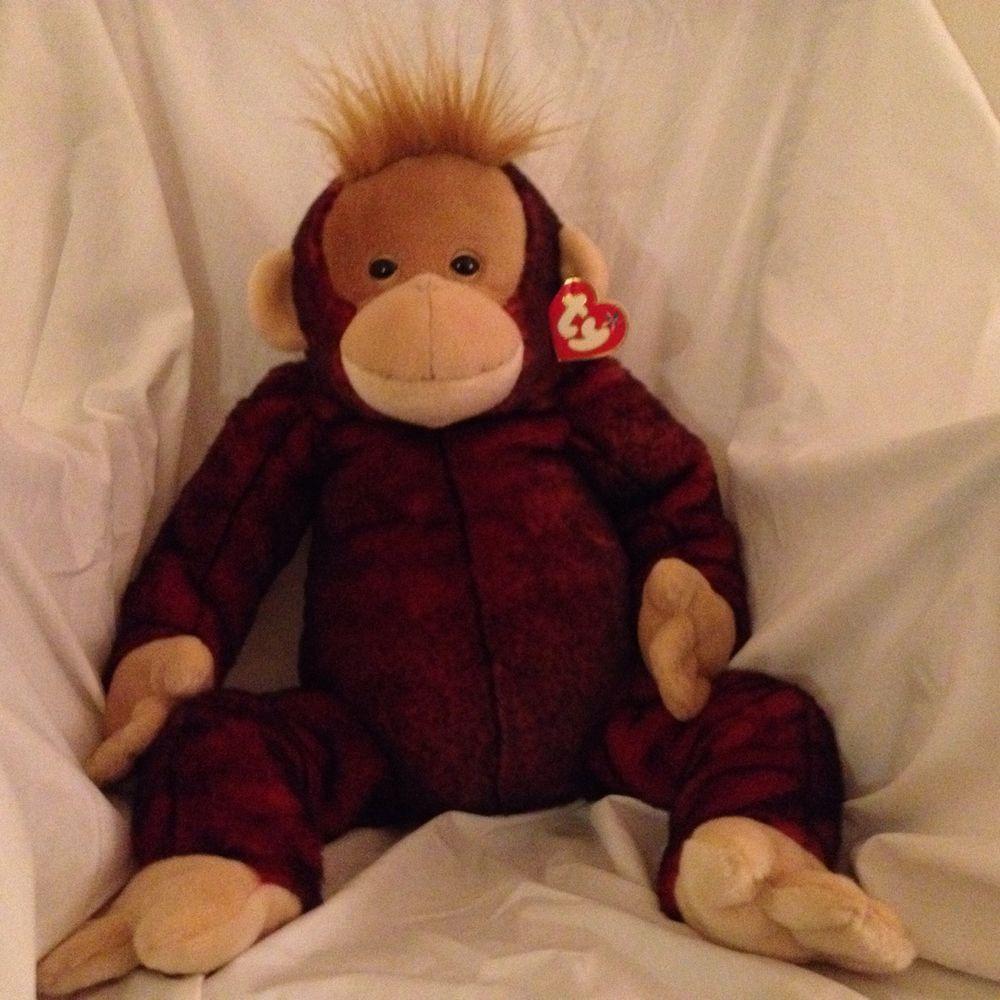 beanie buddies ty extra large schweetheart orangutan 30 great valentines gift