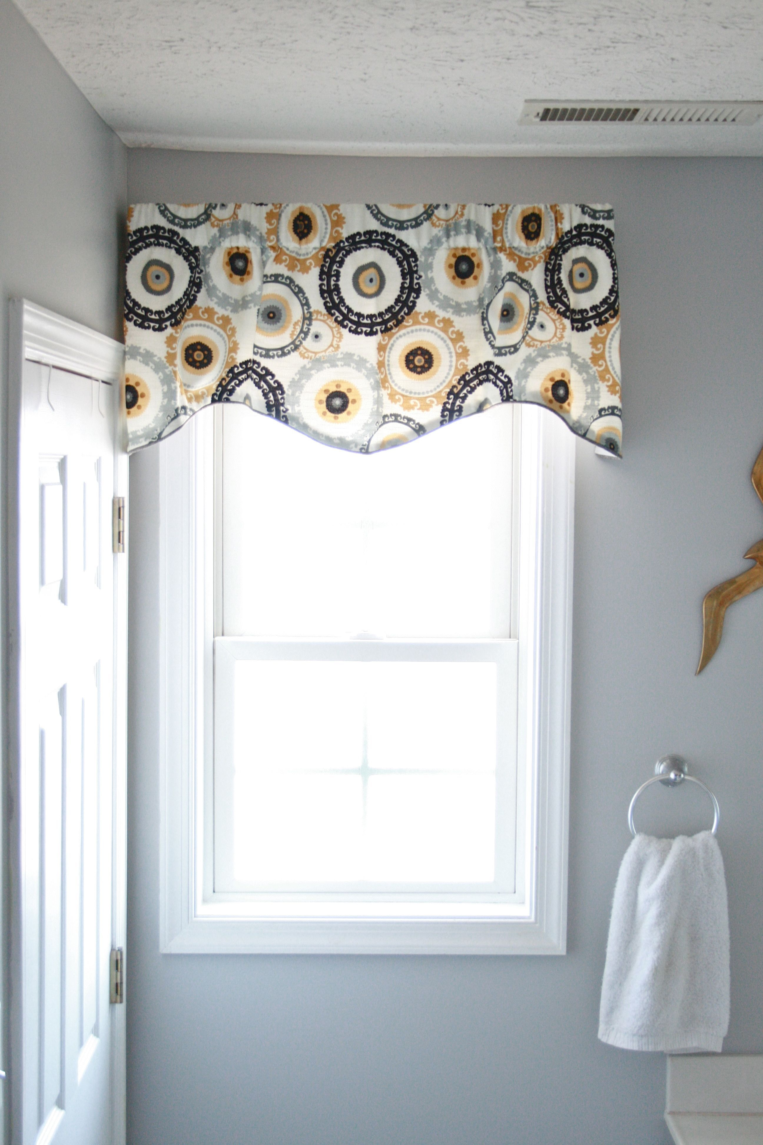 Pin On For The Home, Bathroom Window Valances