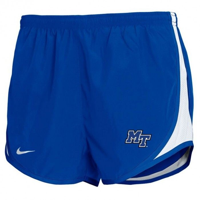 These classic and comfortable shorts are a favorite among women. These shorts are perfect for MTSU fans whether running or out and about. #MTSU #textbookbrokers #blueraiders #Nike