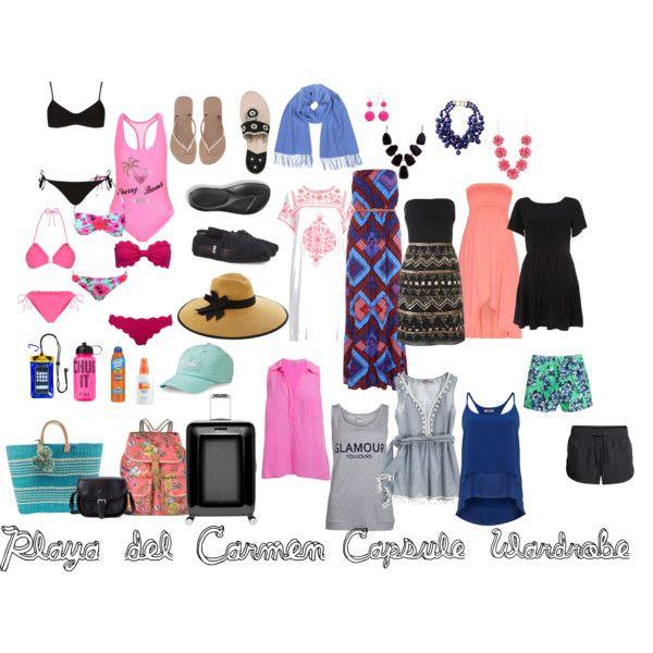"""Playa Del Carmen Capsule Wardrobe"" By Supbethany On"