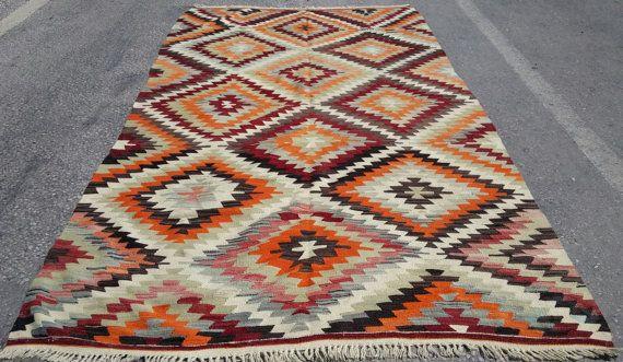 Handgemachte Turkischer Kelim Teppich Kelim Teppich Teppich