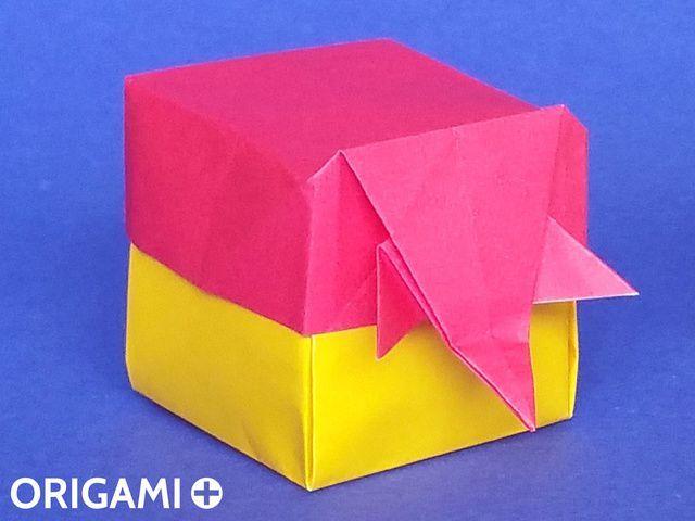 Photo of Origami Elephant Box