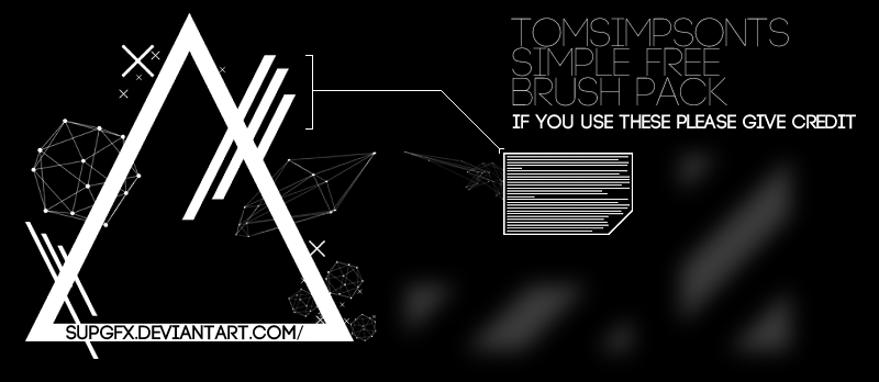 Tech Brush Set By TomSimpsonTS by