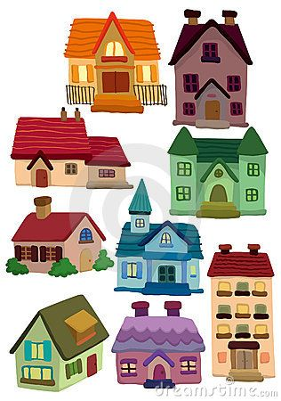 cartoon pictures of houses  houses | [design] icons | Pinterest | House, Cartoon house and Doodles