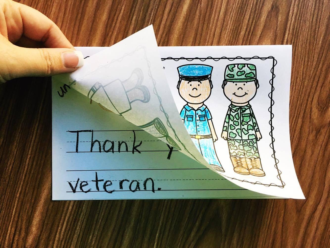 Veterans Day In Kindergarten