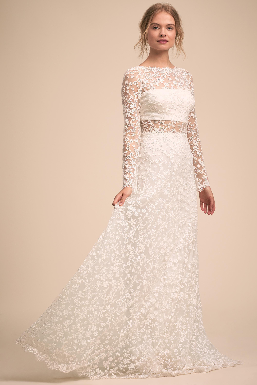Large Floral Lace Long Sleeve Wedding Dress David S Bridal Petite Wedding Dress Long Sleeve Wedding Dress Lace Davids Bridal Wedding Dresses [ 2880 x 1920 Pixel ]