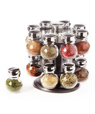 Take A Look At This Revolving Spice Rack Set By AQ On #zulily Today!