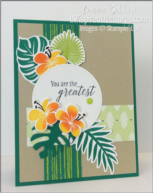 Handmade greeting card by connie babbert ccmc520 tropical chic handmade greeting card by connie babbert ccmc520 tropical chic inkspired treasures m4hsunfo
