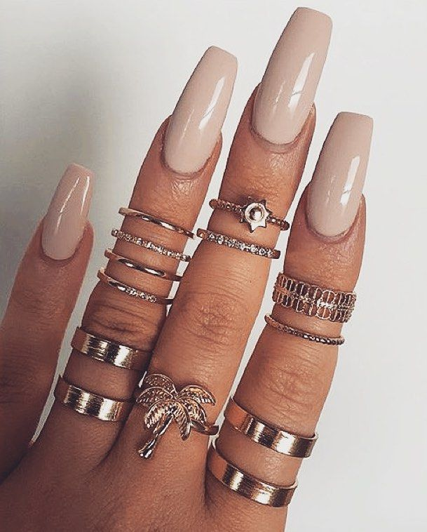 GW   Nail/ring inspo via @victoriaoliviaxo by...