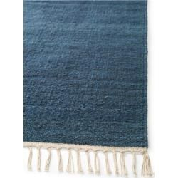 Photo of benuta wool rug mala turquoise 70×140 cm – natural fiber rug made of wool benuta