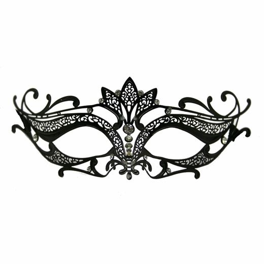 black metal venetian crown top mask mask pinterest masquerade