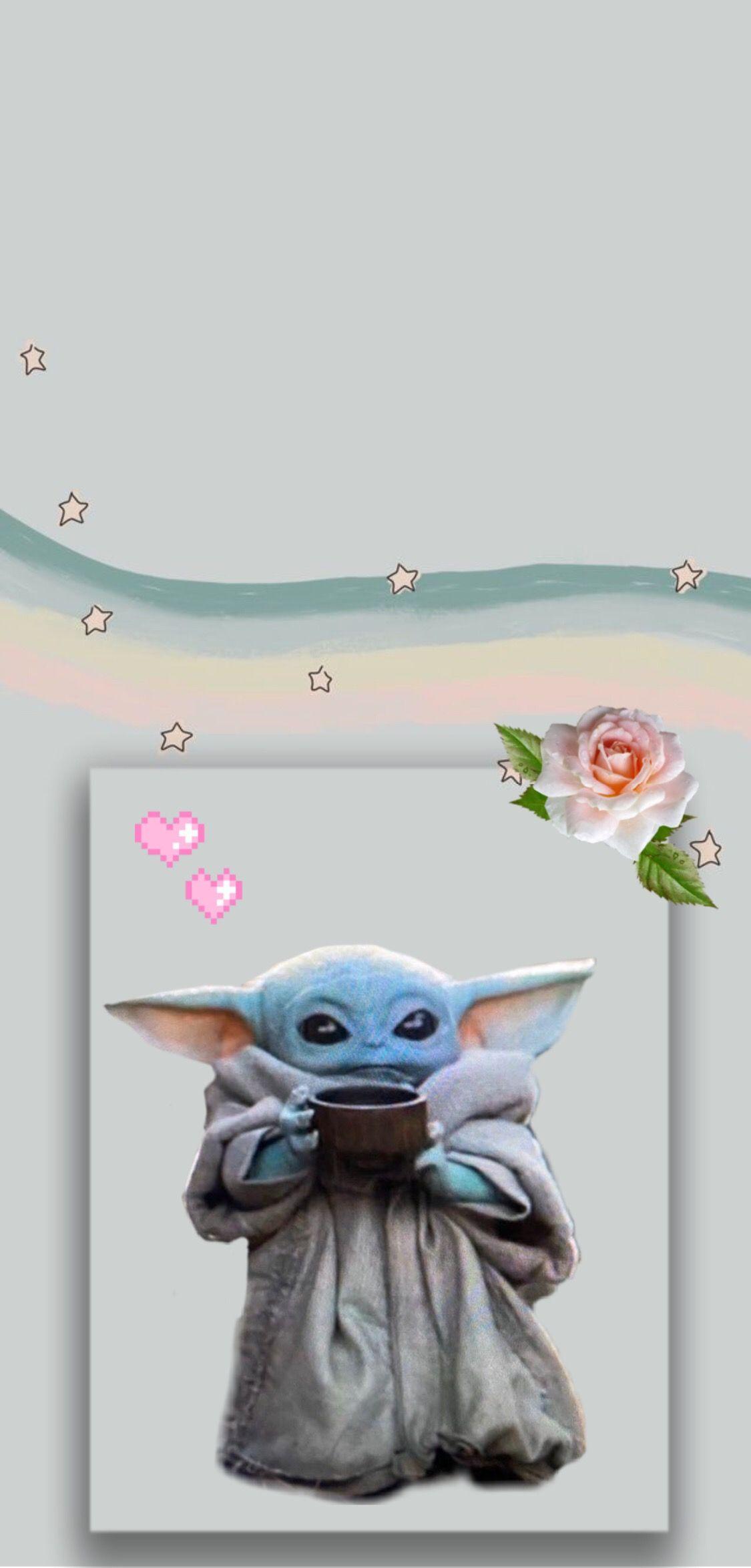 Baby Yoda Yoda Wallpaper Superhero Wall Art Star Wars Awesome