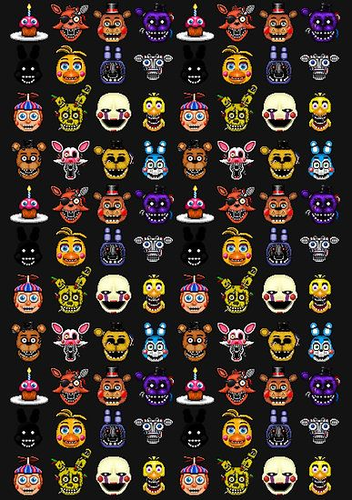 Five Nights At Freddy's Characters Names And Pictures : nights, freddy's, characters, names, pictures, Doodle, Ideas
