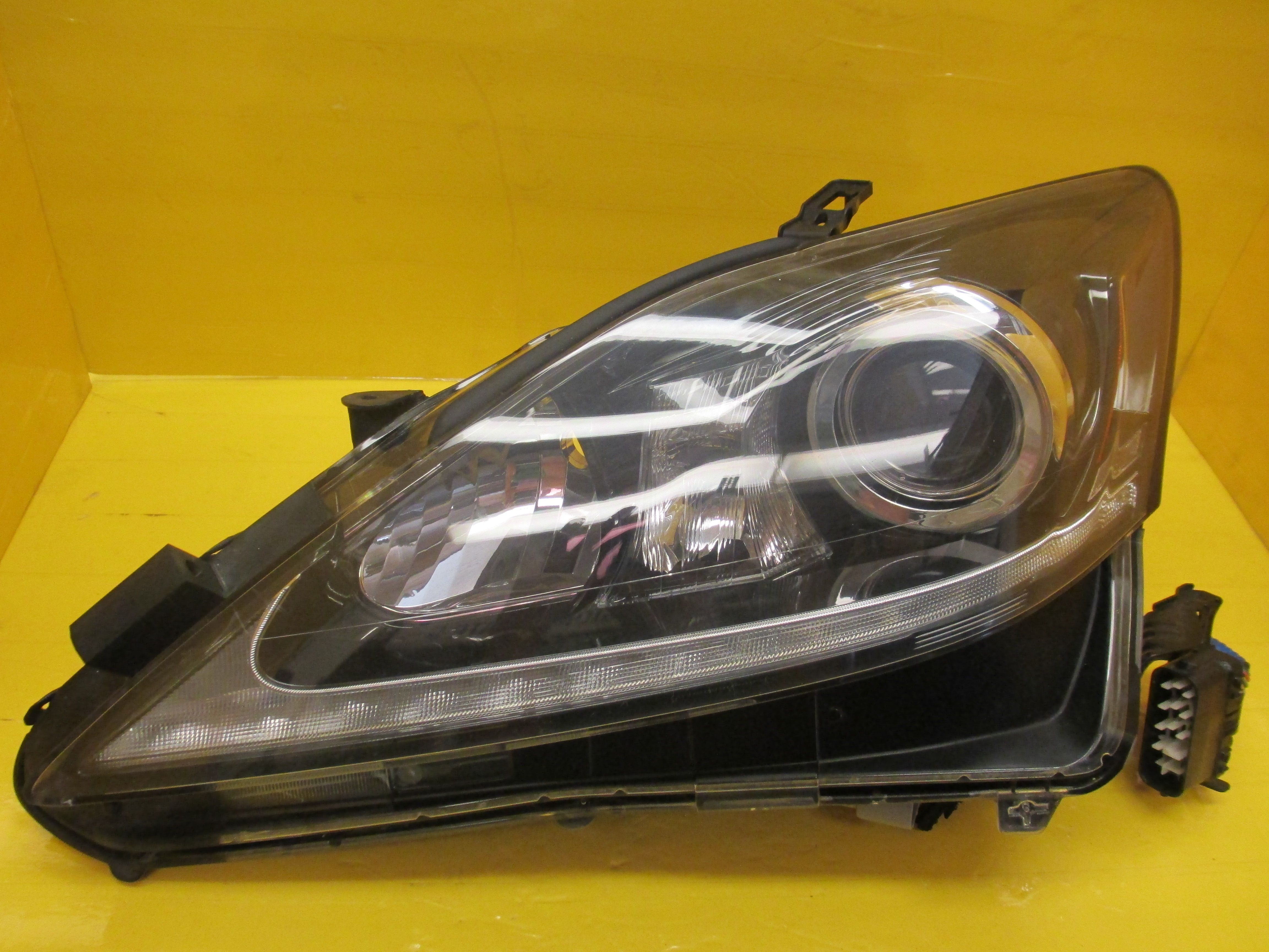 retrofit santos limited jake rjm bionic headlight lexus projector is large on installed quad