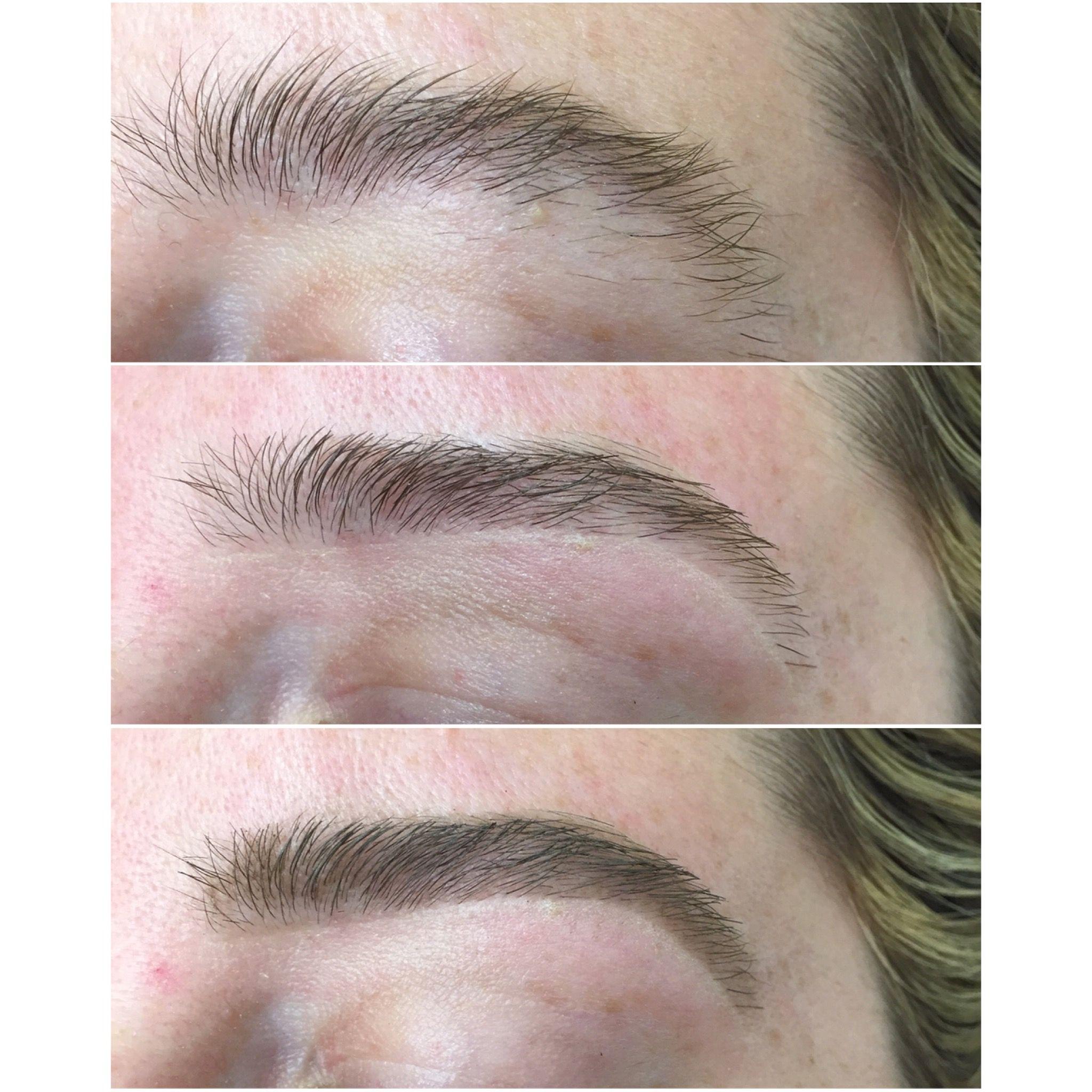Eyebrow Wax Eyebrow Shape Egzonamua Before And After Eyebrow